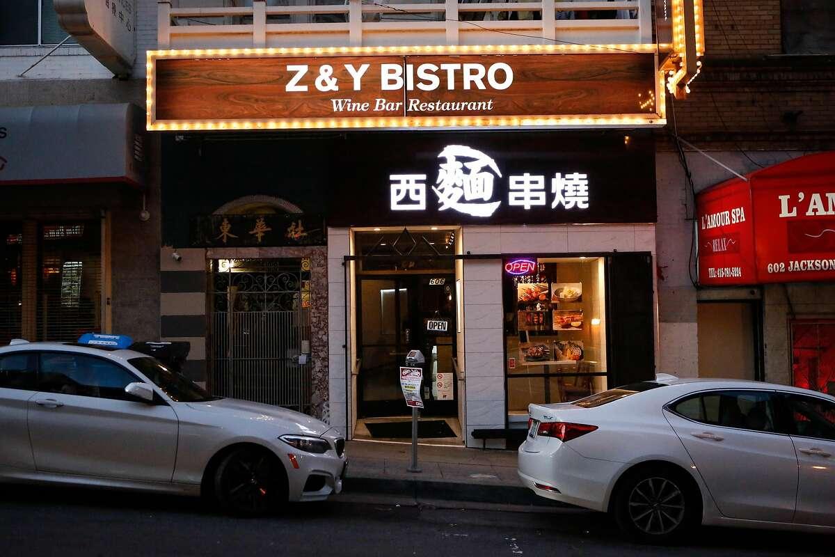 Z&Y Bistro on Thursday, February 21, 2019 in San Francisco, Calif.