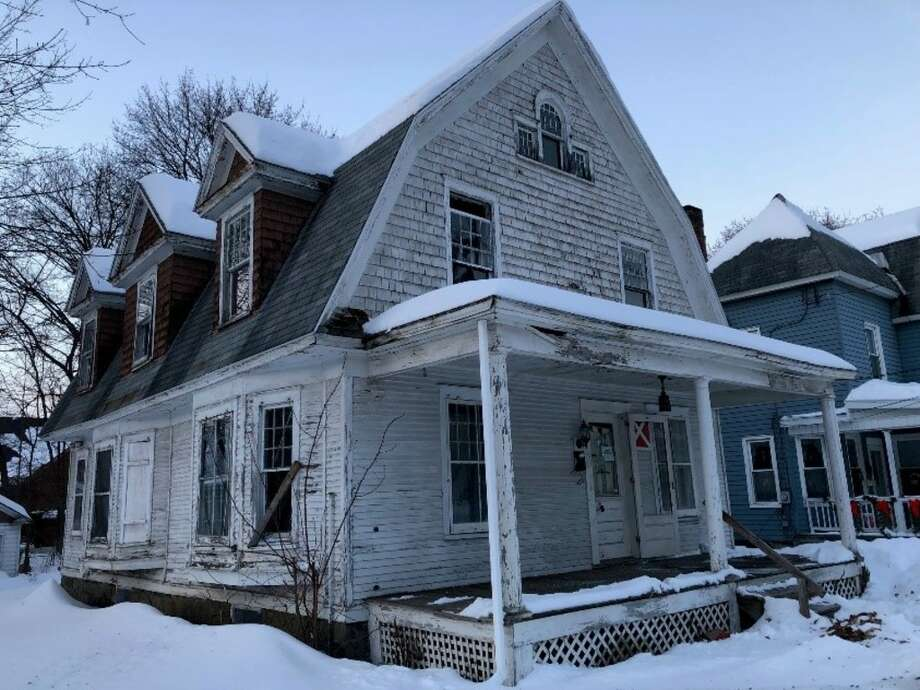 "The Capital Region Land Bank bought the infamous ""zombie property"" at 2 Cornelius Ave., Niskayuna for $1 on Wednesday, February 20, 2019. Photo: Courtesy Of Capital Region Land Bank"