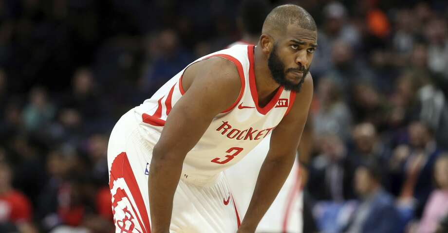 PHOTOS: Rockets game-by-game Houston Rockets' Chris Paul plays against the Minnesota Timberwolves in an NBA basketball game Wednesday, Feb. 13, 2019, in Minneapolis. (AP Photo/Jim Mone) Browse through the photos to see how the Rockets have fared in each game this season. Photo: Jim Mone/Associated Press