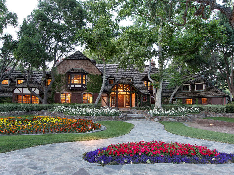 Welcome to Sycamore Valley Ranch, the former Neverland Ranch that once belonged to Michael Jackson. Jackson originally purchased the property for $19.5 million in 1987. Photo: Jim Bartsch / Variety