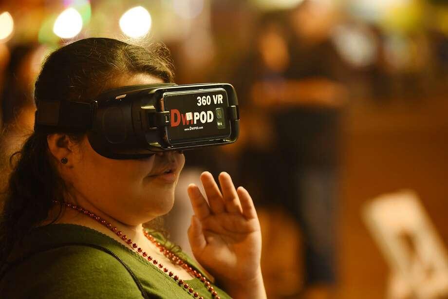 The TxDOT Plan to Win Drunk Driving VR experience. Photo: Christian Alejandro Ocampo