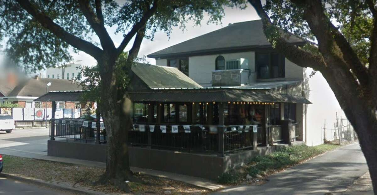 Midtown Bar and Grill 415 W Gray St. Demerits: 25 Inspection highlights: Lettuce stored in container that once contained pickles; One roach beneath microwave near handwashing sink
