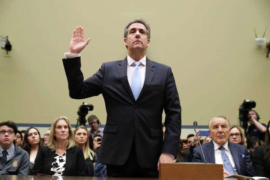 Michael Cohen, ex abogado personal del presidente Donald Trump, testifica durante una audiencia en el Congreso el miércoles, 27 de febrero del 2019, en Washington, DC. Photo: Chip Somodevilla /Getty Images / 2019 Getty Images