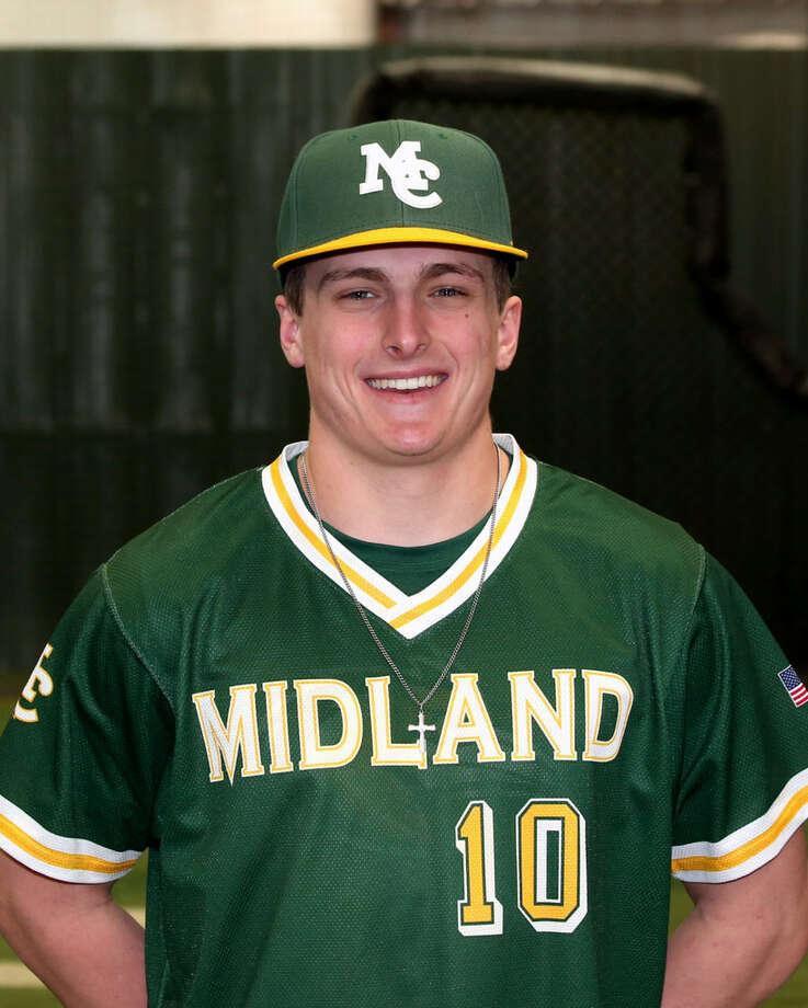 Midland College baseball player Ryan Hunt Photo: Midland College Athletics