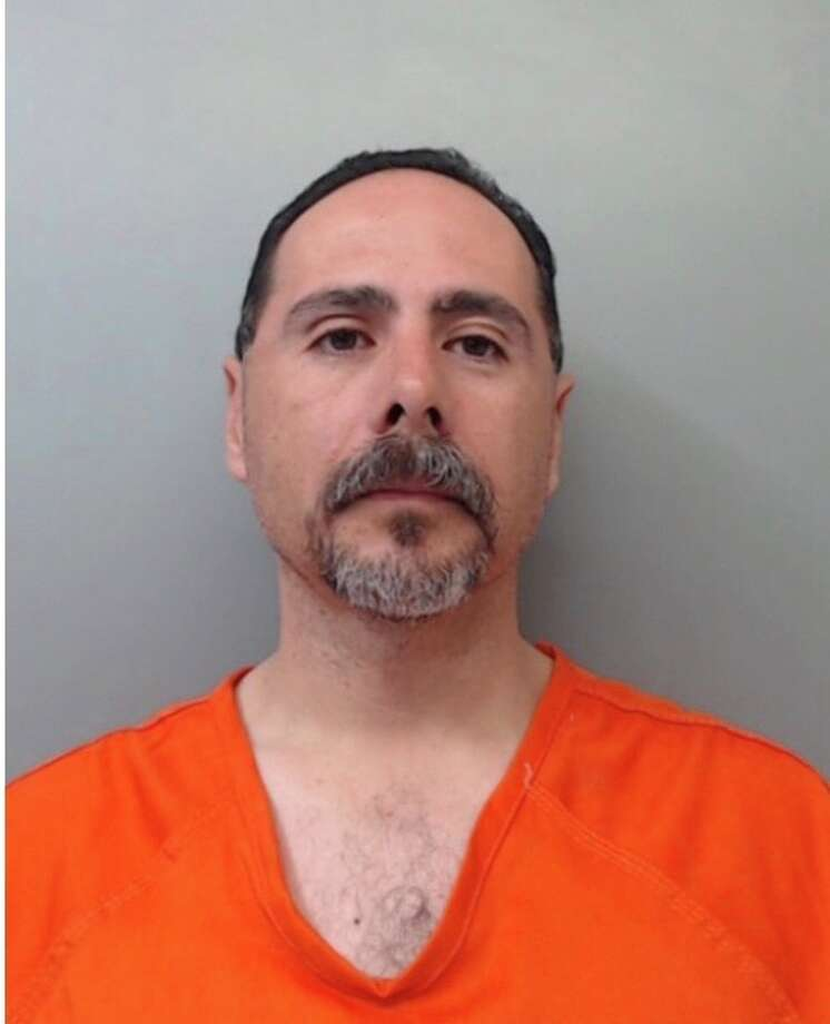 Former Laredo Police Department investigator Anthony Carrillo Jr. was arrested and indicted Feb. 27, 2019 for allegedly taking gambling proceeds seized from maquinitas and depositing the cash into his personal bank account. Photo: Courtesy Photo