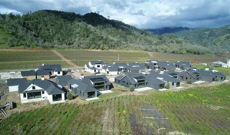 Calistoga has permitted 20 multi-million-dollar homes that are going up as part of the Four Seasons Resort & Residences Napa Valley.