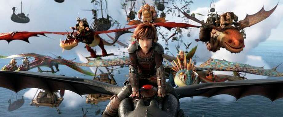 The character Hiccup, voiced by Jay Baruchel, in a scene from 'How to Train Your Dragon: The Hidden World.' (DreamWorks Animation/Universal Pictures via AP) / © 2019 DreamWorks Animation LLC. All Rights Reserved.