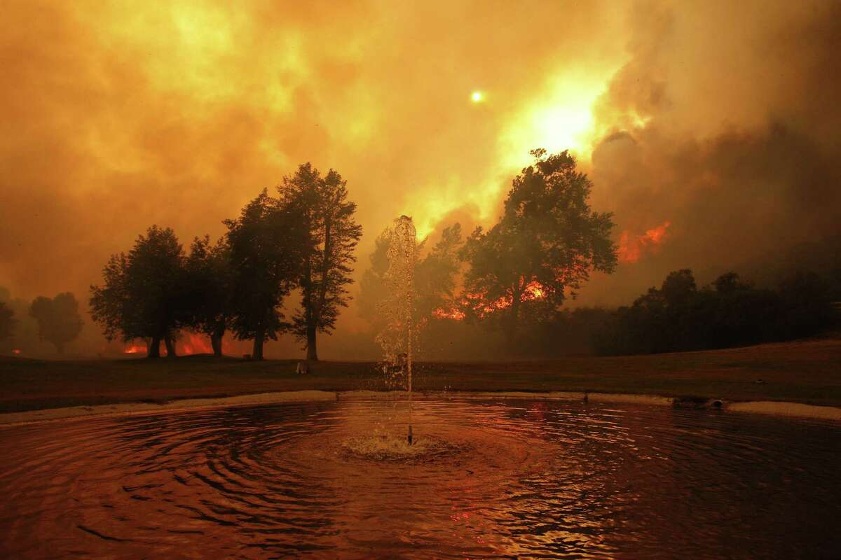Climate change is blamed for the increasing number of wild fires.