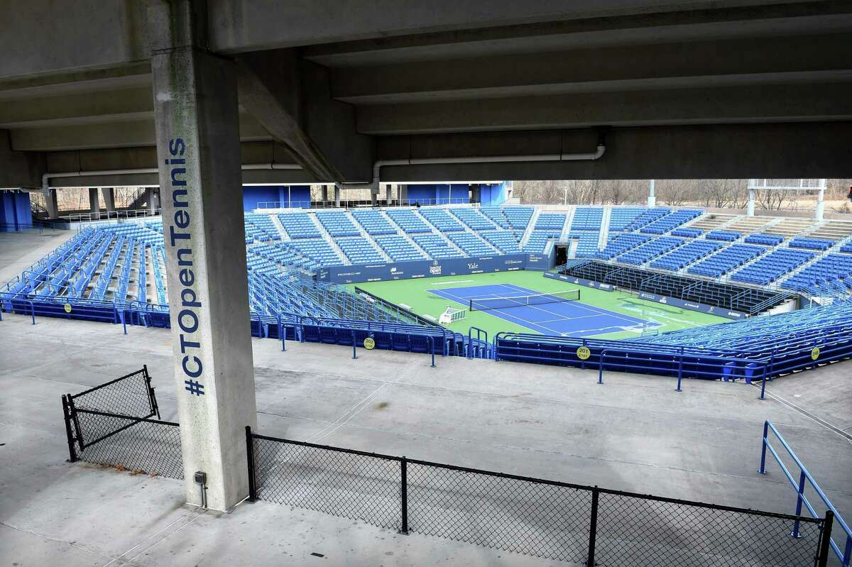 The Connecticut Tennis Center, home of the former CT Open tennis tournament, in New Haven photographed on February 25, 2019.