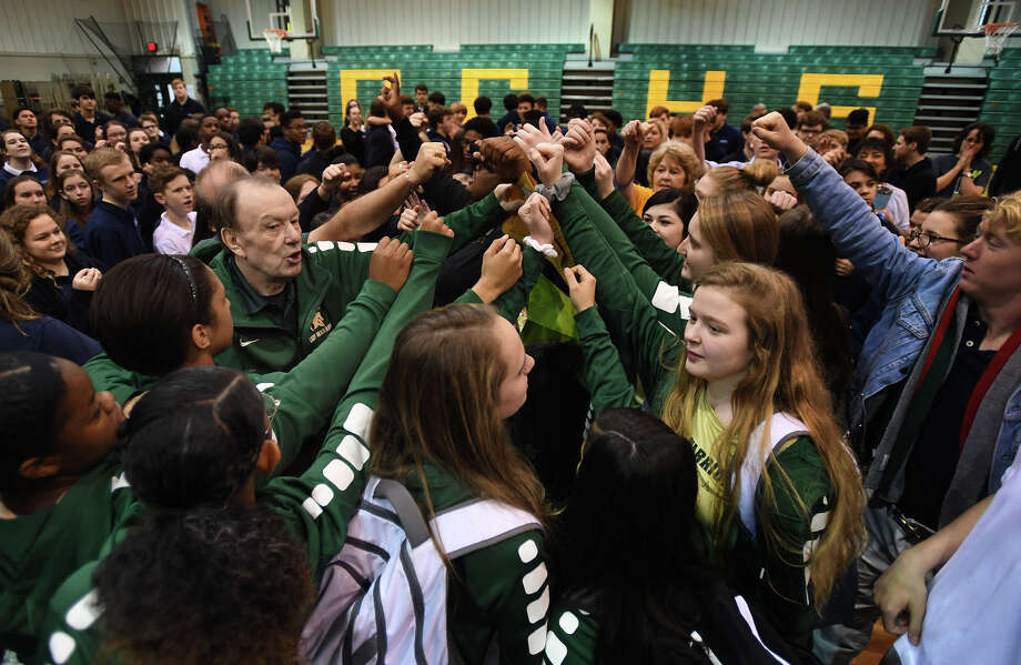 The Legacy basketball team rallies Wednesday before leaving for the Texas Association of Private and Parochial Schools tournament in Waco. The Warriors will play Tomball at 11 a.m. Thursday. Photo taken Thursday, 2/28/19 Photo: Guiseppe Barranco/The Enterprise / Guiseppe Barranco ?