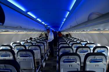Onboard warning about inappropriate touching on the plane - SFGate