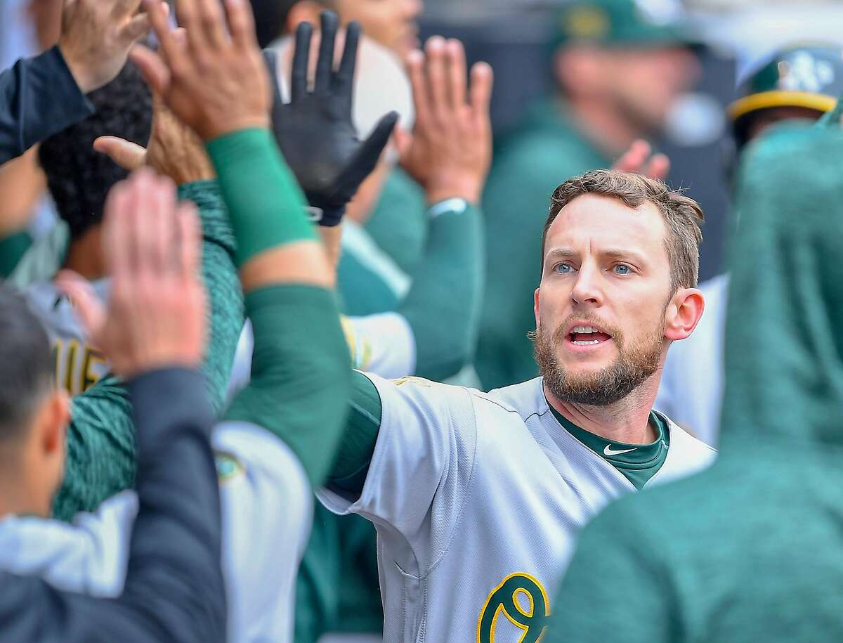 Jed Lowrie has played just nine games in the past two seasons, but will vie for the A's second base job in spring training.