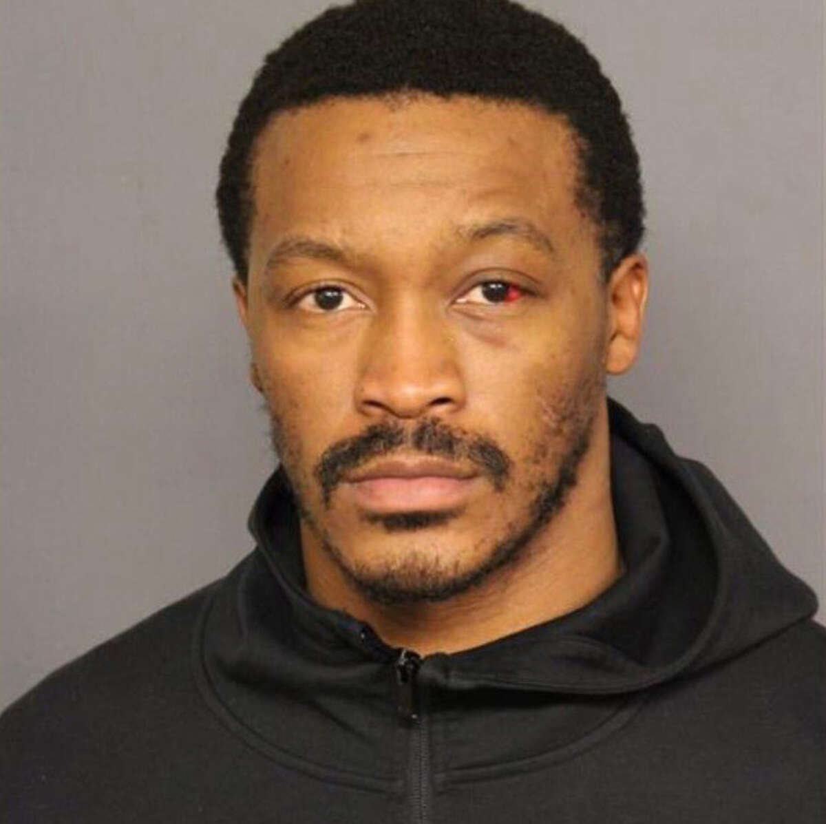 PHOTOS: Demaryius Thomas' time with the Texans A mugshot provided by the Denver Police Department after Demaryius Thomas was arrested and charged with vehicular assault on Feb. 27, 2019.