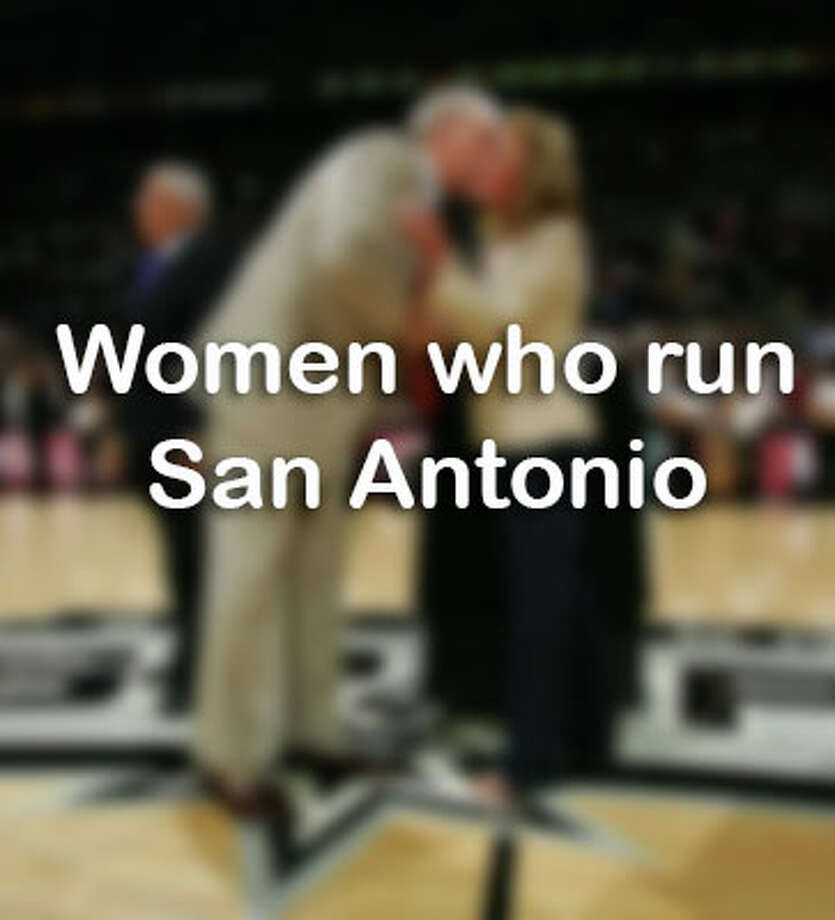 Click ahead for women who run the city of San Antonio. Photo: Garrett Ellwood/ (Photo By Garrett W. Ellwood/NBAE Via Getty Images) / 2005 NBAE