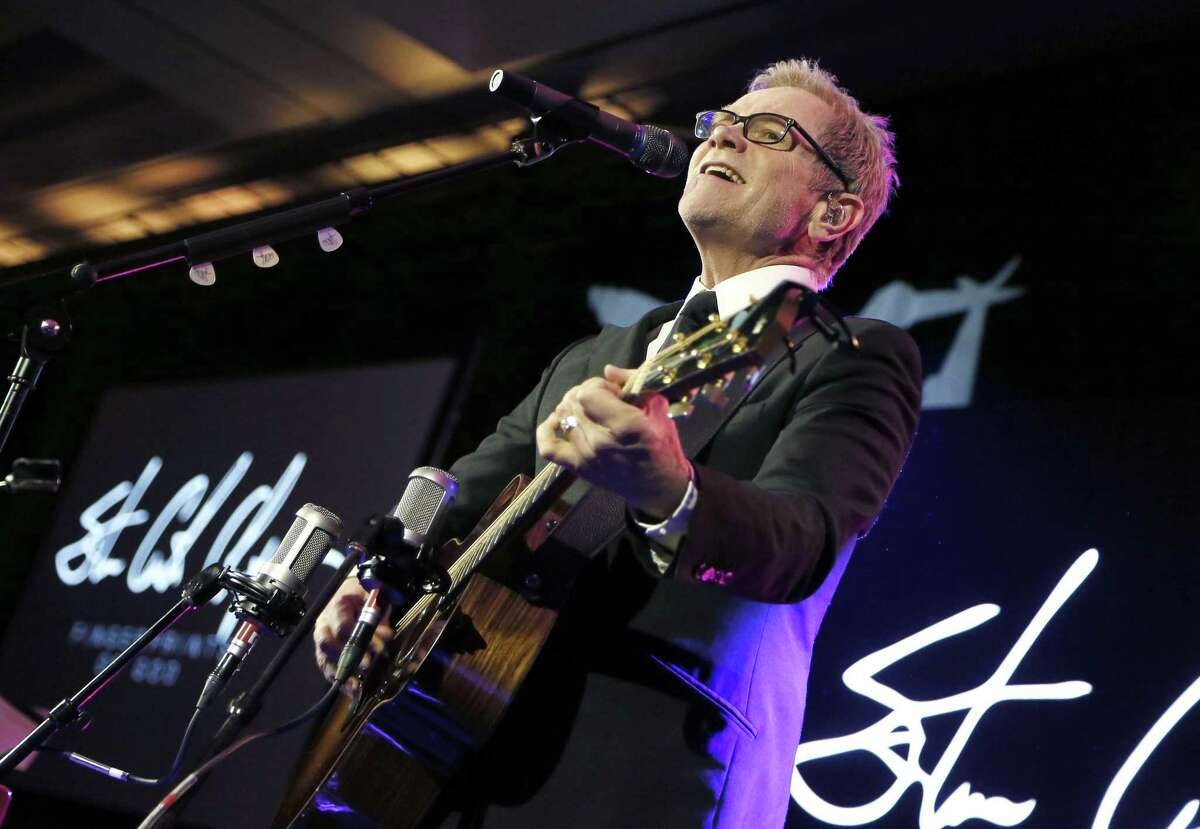 WASHINGTON, DC - JANUARY 17: Grammy Award-winning artist Steven Curtis Chapman performs at the Save the Storks 2nd Annual Stork Charity Ball at the Trump International Hotel on January 17, 2019 in Washington, DC. (Photo by Paul Morigi/Getty Images for Save the Storks)