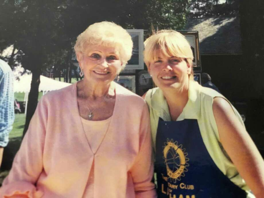 Diane Conroy-LaCivita, right, and her mother, Bunny. (Provided)