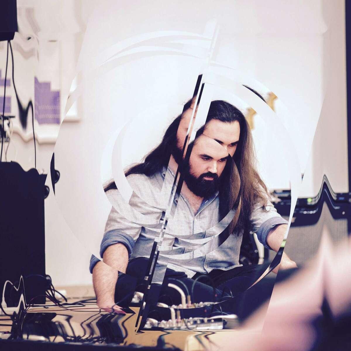 Houston noise musician Tanner Garza