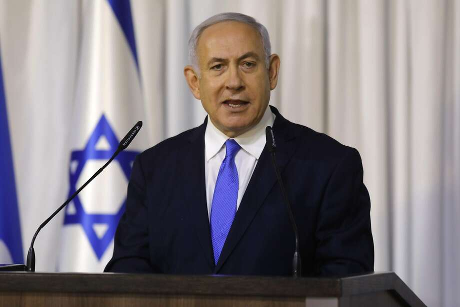 "Benjamin Netanyahu assails corruption charges as a ""witch hunt"" choreographed by the media and his political enemies. Photo: Menahem Kahana / AFP / Getty Images"