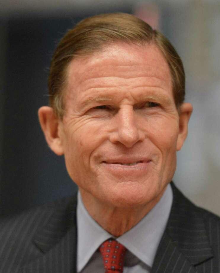 U.S. Sen. Richard Blumenthal D-Conn. Photo: Alex Von Kleydorff / Hearst Connecticut Media File Photo / Norwalk Hour