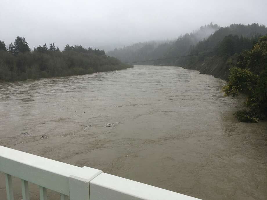 Flooding on Eel River in Northern California. Photo: US National Weather Service Eureka California