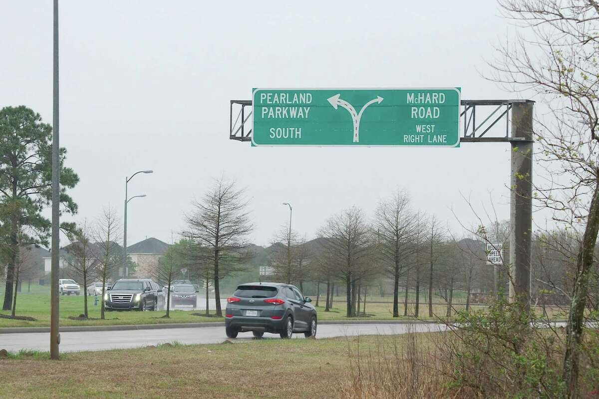 A city of Pearland bond proposition on the May 4 ballot would include funding for a project to improve the Pearland Parkway traffic circle.