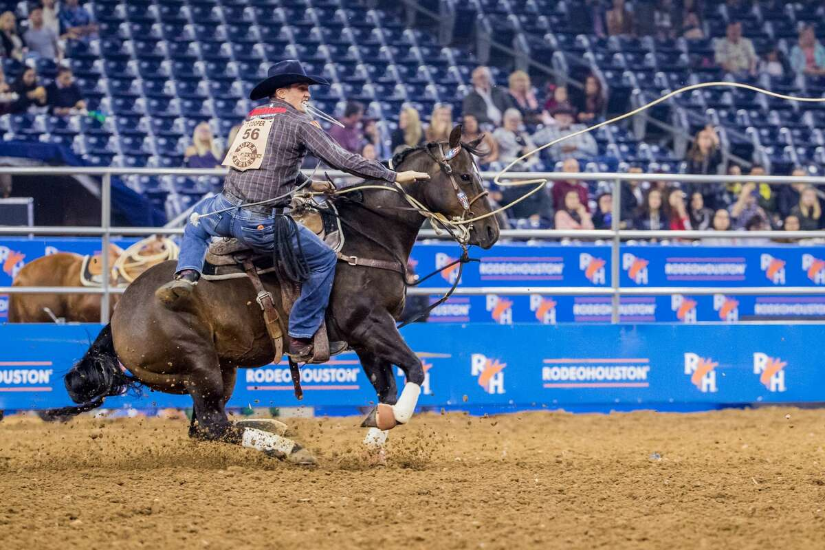 Tie-down roping: What is it?The rider throws the rope to catch the calf and then ties the calf, which simulates ranch work and the medical treatment of cattle. Once the calf is tied, the rider throws his hands in the air, stopping the clock.