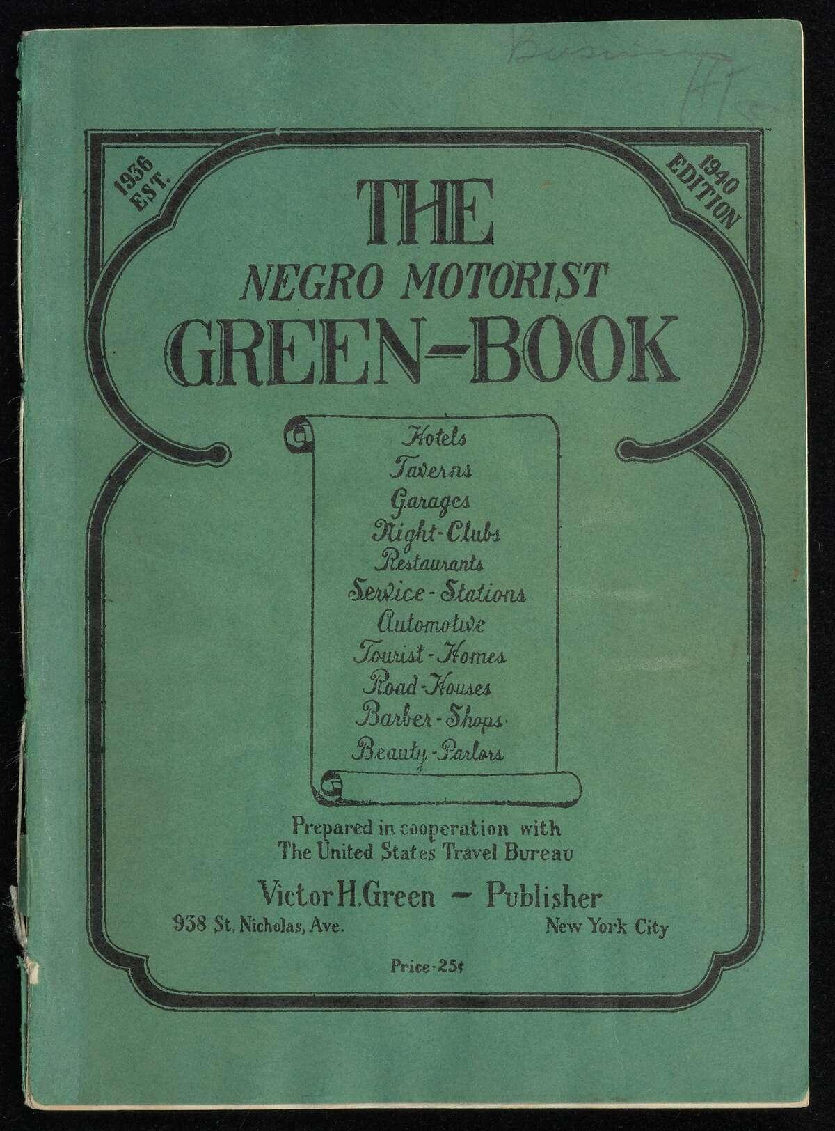 "1940 edition ""Negro Motorist Green Book"" (Photo courtesy New York Public Library) (Paul Grondahl)"