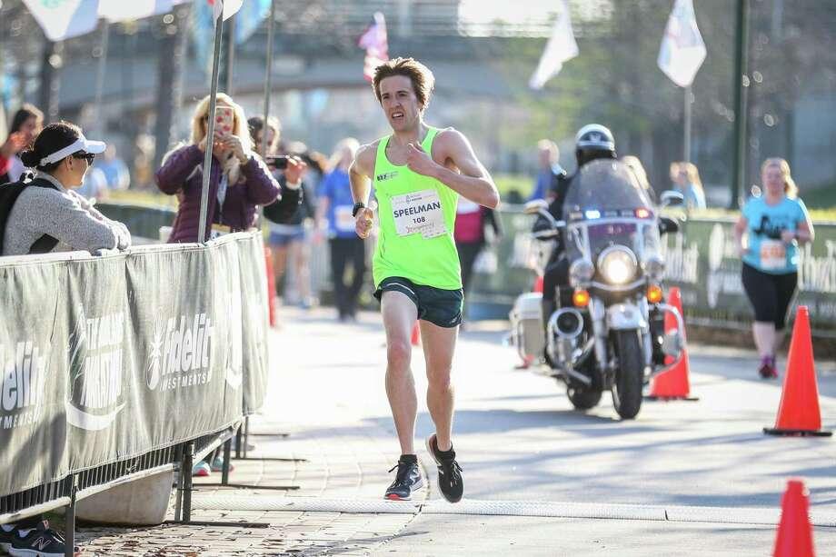 Geoffrey Speelman, of The Woodlands, won The Woodland Half Marathon last year. He's the only returning champion in 2019. Photo: Michael Minasi, Staff Photographer / Houston Chronicle / © 2017 Houston Chronicle