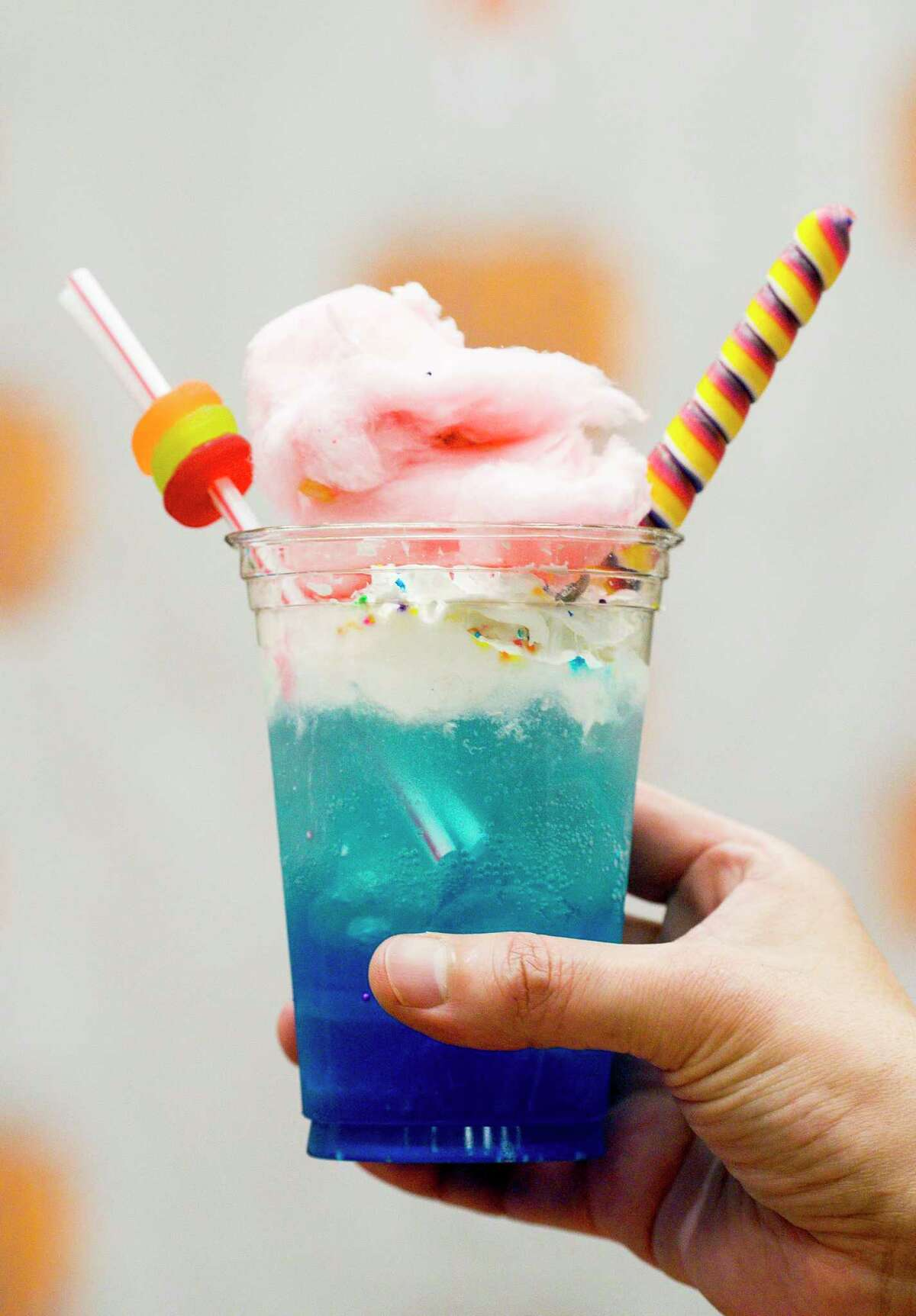 The Unicorn Float from The Candy Factory won first place in the Most Creative Food category of the 2019 Gold Buckle Foodie Awards.