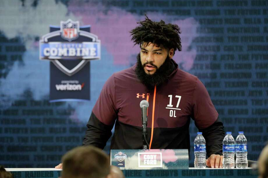 Image result for cody ford nfl combine