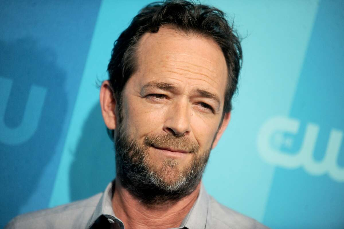 Luke Perry attending the 2017 CW Upfront in New York City, NY, USA, on May 18, 2017. The Beverly Hills, 90210 star was hospitalized after reports of massive stroke. (Dennis Van Tine/Abaca Press/TNS)