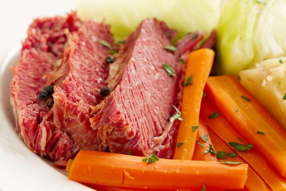 Corned beef dinner. Photo: Robert Linton / Getty Images / (c) Robert Linton