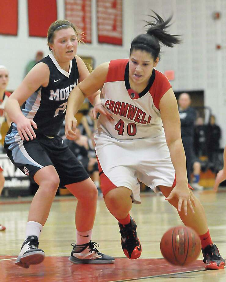 After successful career at Cromwell High School, Mya Villard has led Eastern Connecticut State into NCAA Division III tournament Photo: Catherine Avalone / Journal Register Co. / TheMiddletownPress