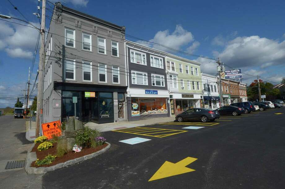 The newly reopened Liberty Square parking lot Wednesday, October 24, 2018, in Norwalk. Parking Authority officials said that stricter enforcement of the lot will begin in March. Photo: Erik Trautmann / Hearst Connecticut Media / Norwalk Hour