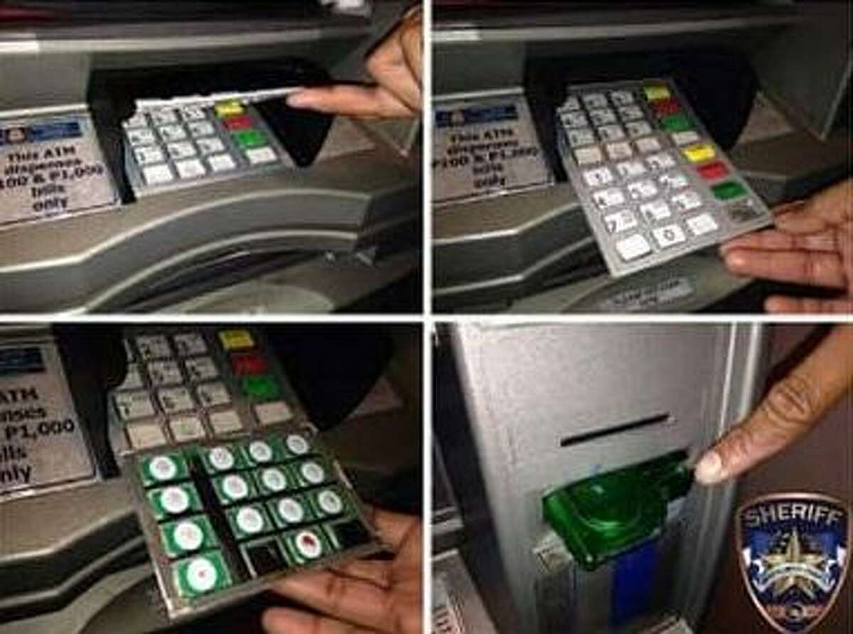 The Montgomery County Sheriff's office helps residents learn to recognize signs of skimming in ATMs.