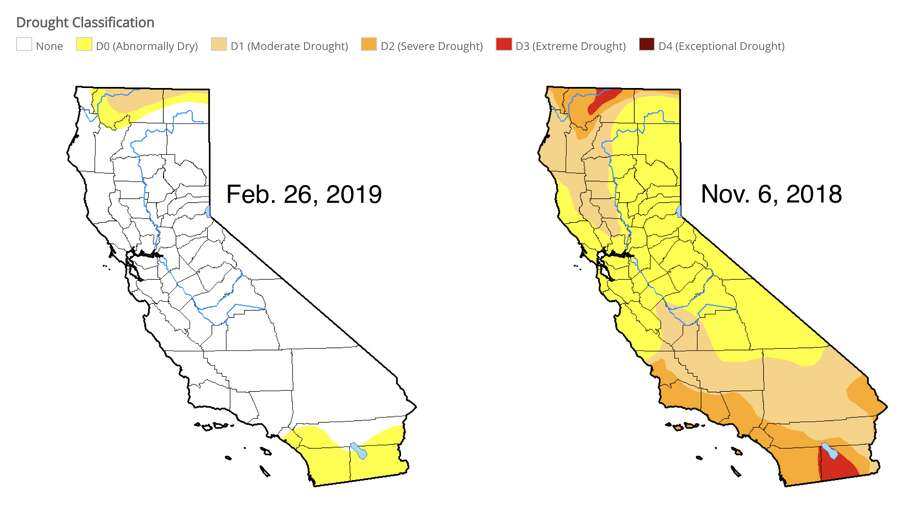 Feb. 26, 2019 vs. Nov. 6, 2018