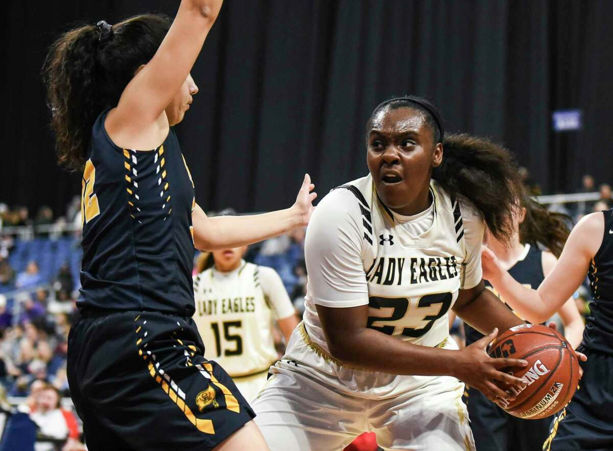 Woodville's Jordyn Beaty has been selected to the 2019 girls'basketball Super Gold first team. Photo taken on Thursday, 02/28/19. Ryan Welch/The Enterprise
