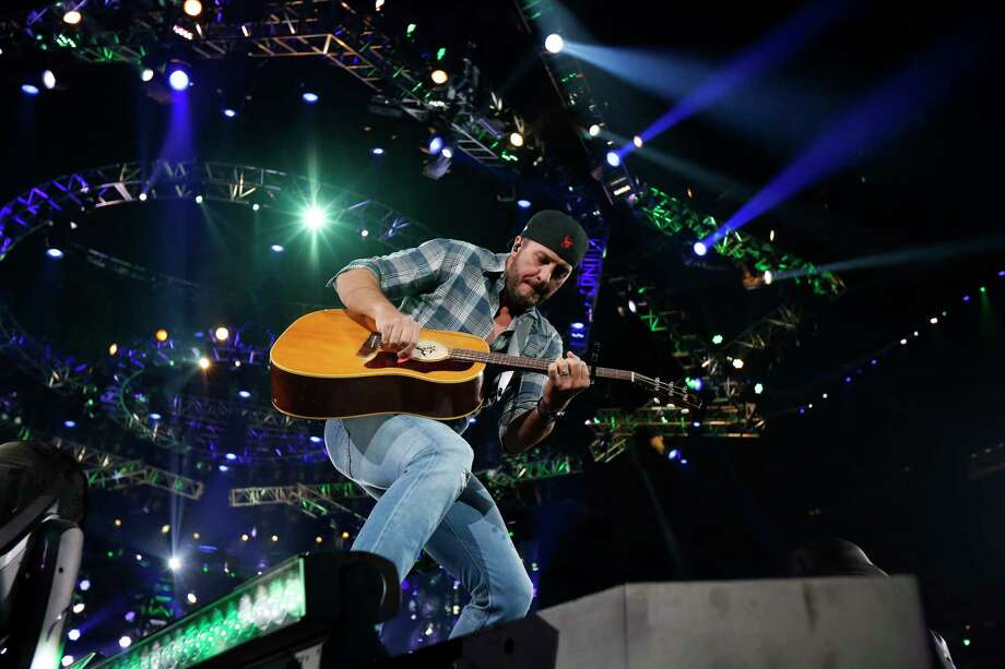 Luke Bryan performs at the Houston Livestock Show and Rodeo Thursday, Feb. 28, 2019, in Houston. Photo: Steve Gonzales, Houston Chronicle / © 2019 Houston Chronicle