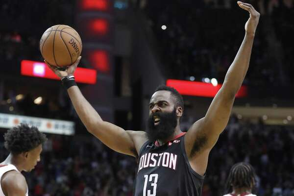 c1bf99bbd57 James Harden pours in 58 as Rockets top Heat - HoustonChronicle.com