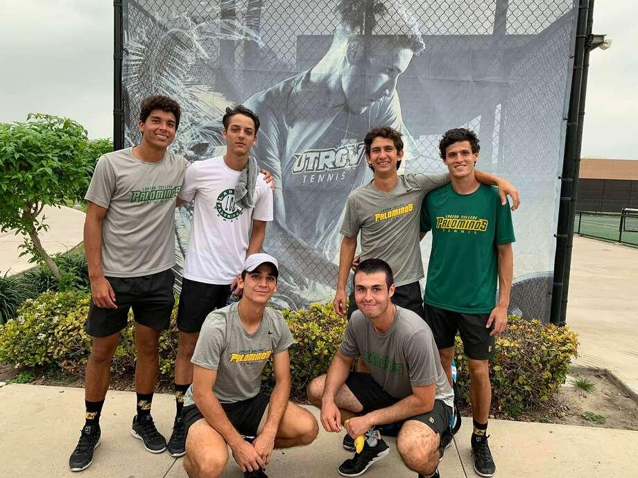 The Laredo College tennis team beat a Division I opponent Thursday winning 5-2 at UTRGV. Photo: Courtesy Photo