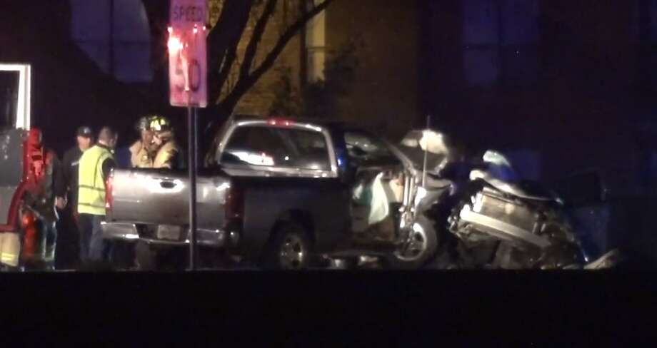 Houston police are investigating a driver for possible DUI after a crash in Clear Lake that left one man dead. Photo: Metro Video