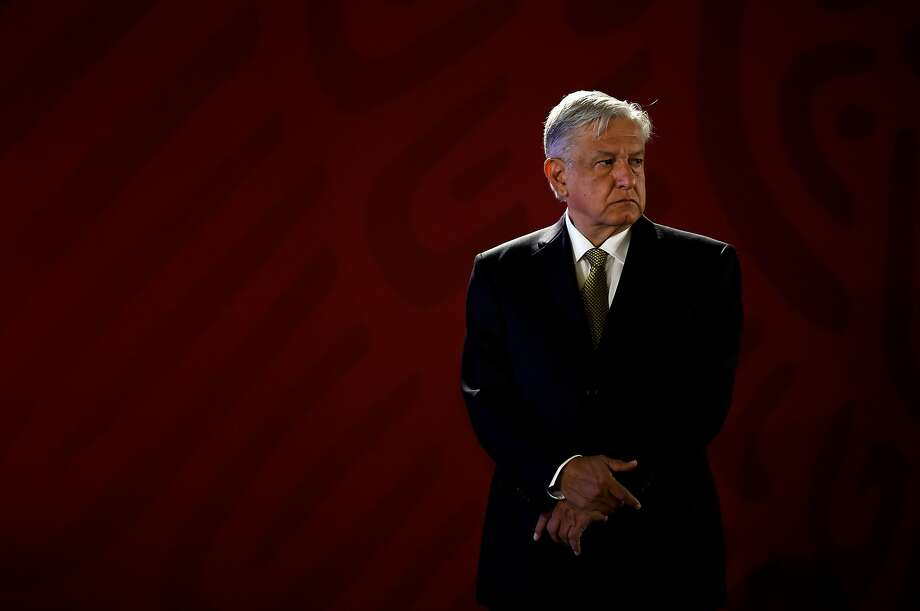 The National Guard, proposed by President Andres Manuel Lopez Obrador, was approved by Mexico's lower chamber of Congress on Thursday. To go into effect, the constitutional changes must still be approved by at least 17 of Mexico's 32 state legislatures and signed by the president. Photo: Alfredo Estrella, AFP/Getty Images