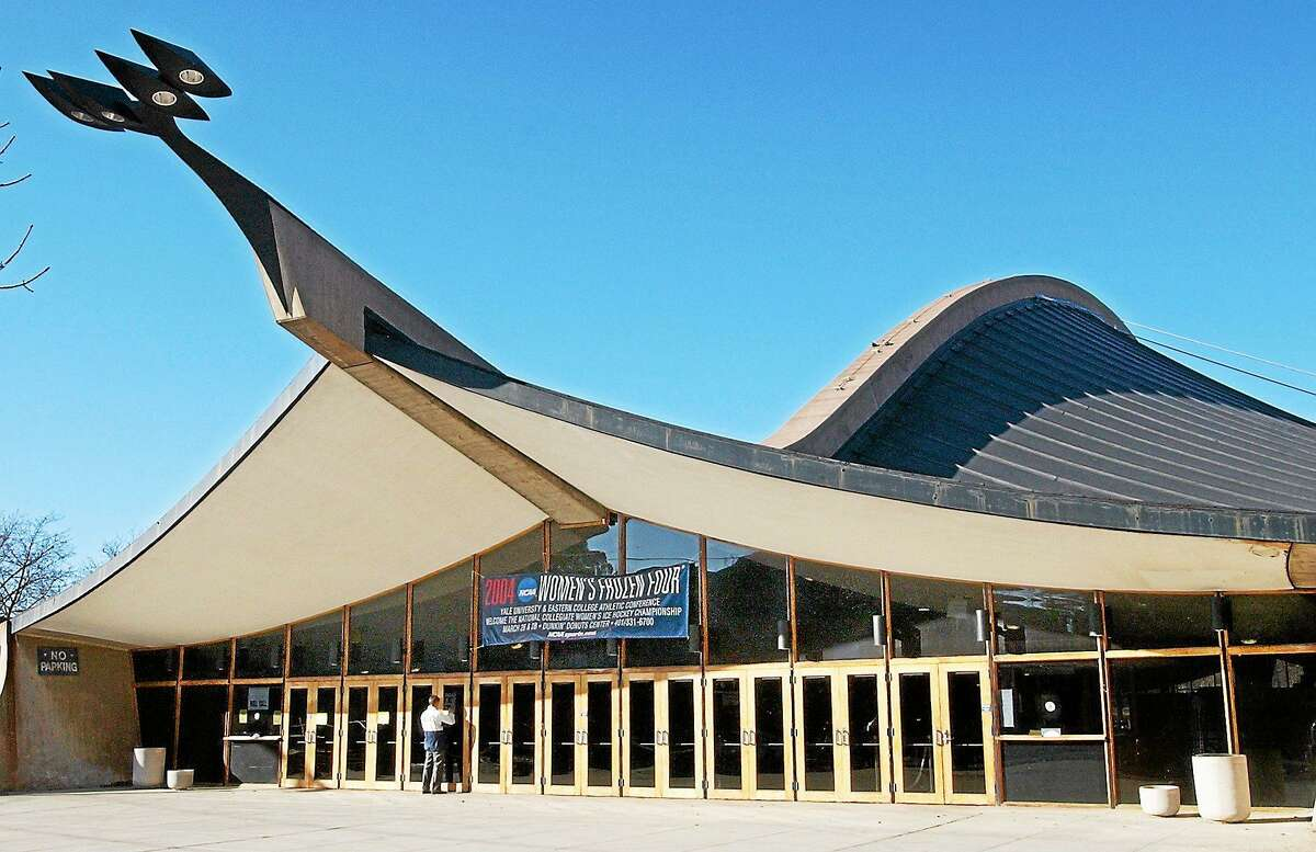 Yale University's world-famous Ingalls Rink designed by Eero Saarinen is seen in this February 2004 file photo.