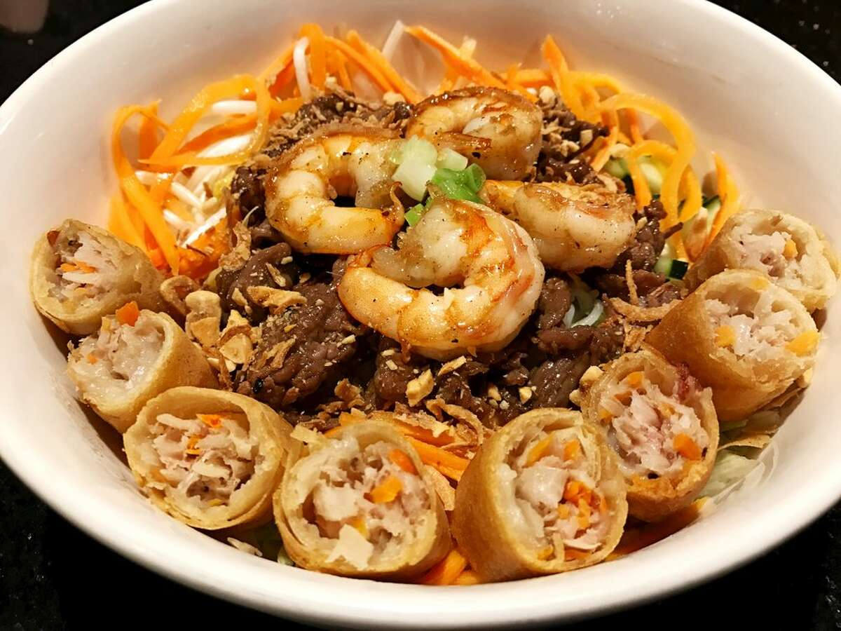 Fu Manchung in Spring placed No. 16 in Yelp's 2019 list of Top 100 Places to Eat in Texas.