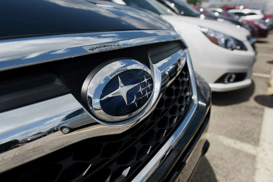 Subaru is recalling about 2 million vehicles in the United States to fix electronic glitches that can cause vehicle indicators to malfunction in the presence of odors like perfume, fabric softener and household cleansers. Photo: Ty Wright / Bloomberg / © 2014 Bloomberg Finance LP