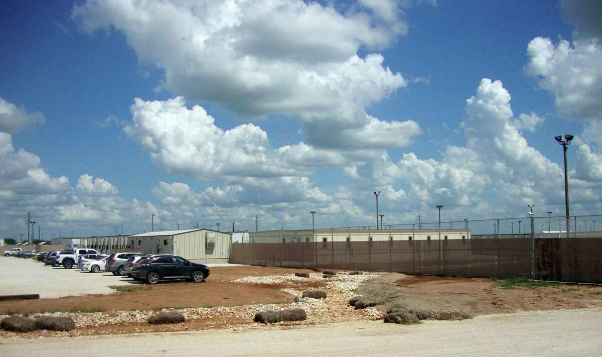 The South Texas Family Residential Center in Dilley, Texas, is the largest of the nation's three immigration detention centers for families, housing up to 2,400, and has drawn criticism from immigrants and advocates although the private company that operates it ries to make it less like a prison. (Molly Hennessy-Fiske/Los Angeles Times/TNS)