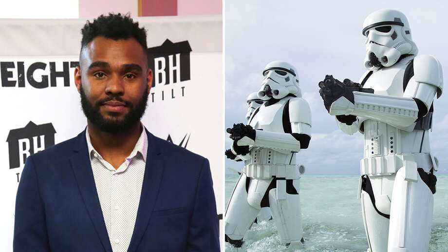 "Lucasfilm is developing a new ""Star Wars"" feature film with ""Sleight"" writer-director J.D. Dillard (left). Photo: Shutterstock/LucasFilm"