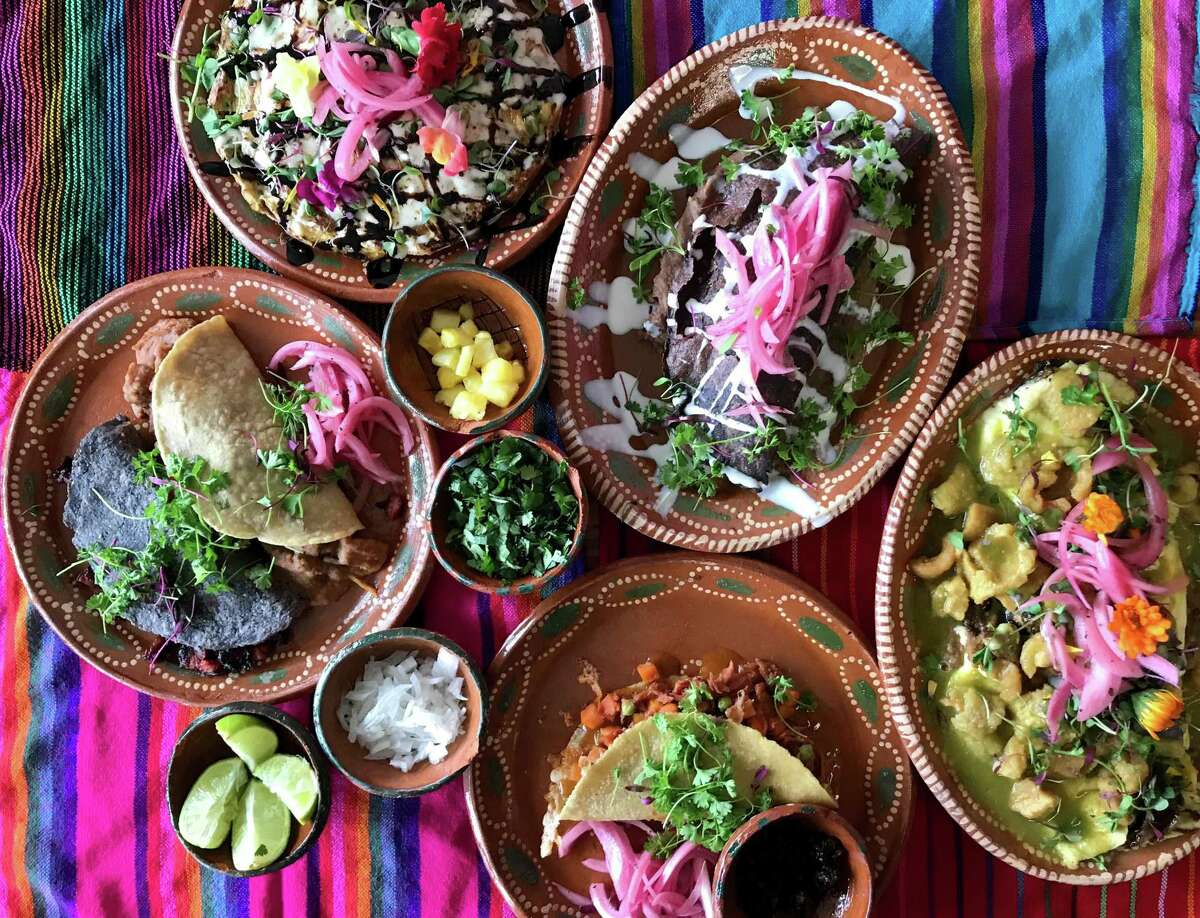 A selection of plates from Sol de Mexico