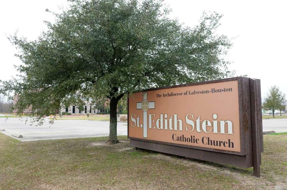 St. Edith Stein Catholic Church at 3311 N. Fry Rd., Katy, TX, on Thursday, January 31, 2019 Photo: Craig Moseley, Houston Chronicle / Staff Photographer / ©2019 Houston Chronicle