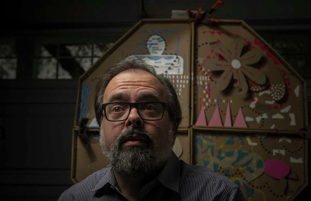 Jimmy LeFlore, who heads Public Art San Antonio, will be showing his own art work at Lone Star Art Space as part of Contemporary Art Month. The show opens March 9 as part of Second Saturday in the Lone Star Art District.